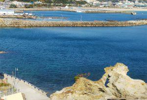 和歌浦漁港~蓬来岩